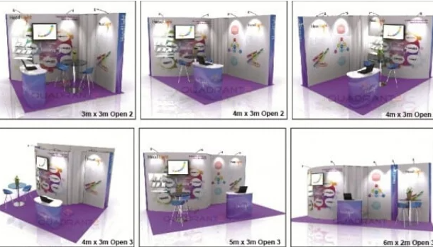 Exhibition Stand Reconfiguration