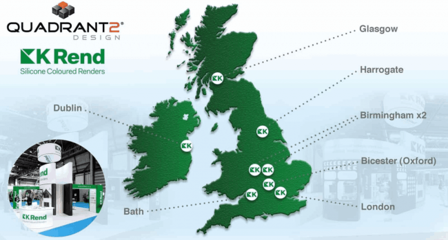 Prestige Stands for Kilwaugher Minerals across the UK