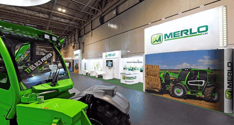 Merlo UK exhibiting at Lamma UK