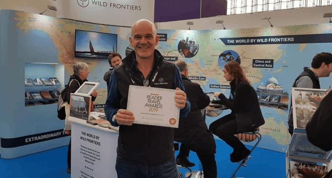 Wild Frontiers Adventure Travel Celebrate Award At Destinations 2019