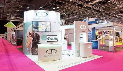 medium pet dental exhibition stand