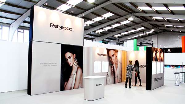 Design for Rebecca at Jewellery Show, ExCeL