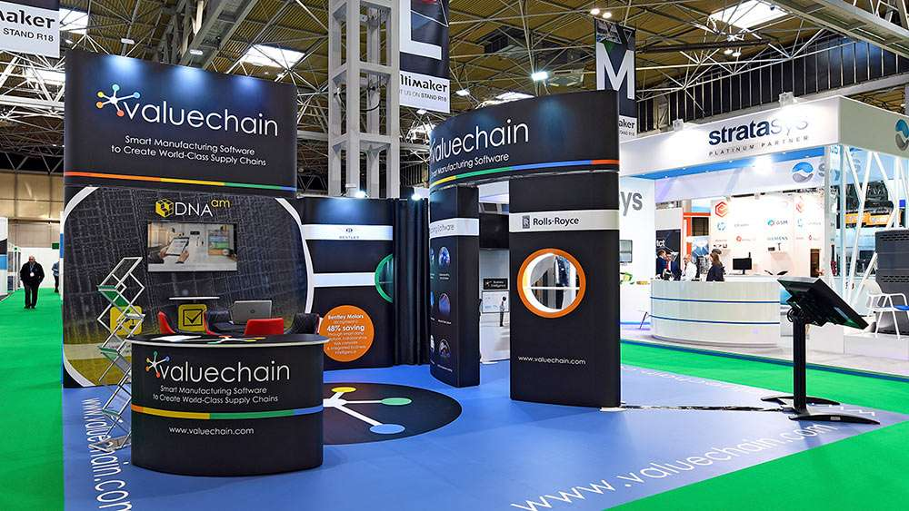 Rental hire exhibition stand