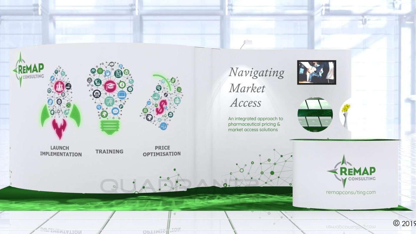 Remap Consulting Ltd exhibiting at Ispor Europe 2019 | Quadrant2Design Review