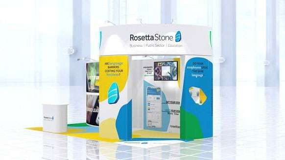 Rosetta Stone exhibiting at Learning Technologies 2020