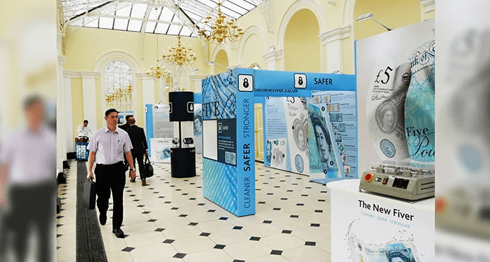 Experienced exhibition stand designers