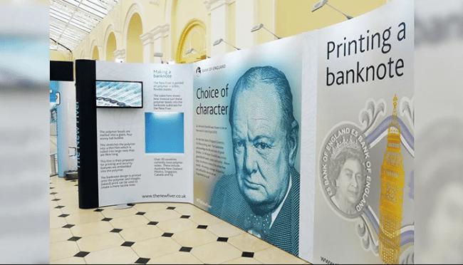 bank of England stand