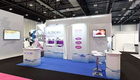 amazing exhibition stand for Optical Industry