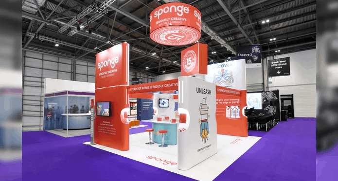 sustainable and modular exhibition stands