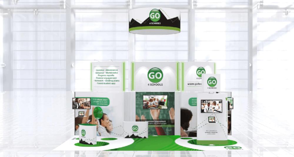 Go 4 schools Exhibition Stand