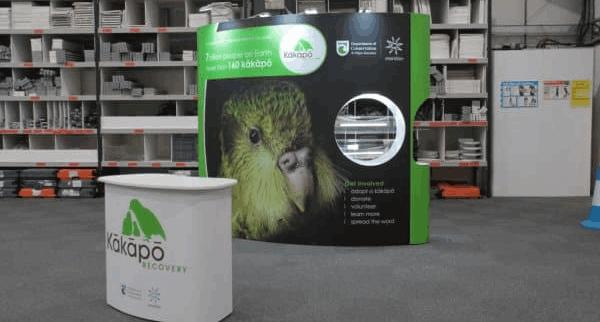 Kakapo recovery programme stand
