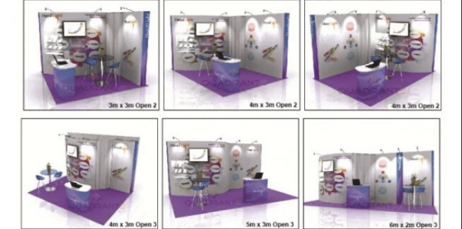 re-configurations for your exhibition