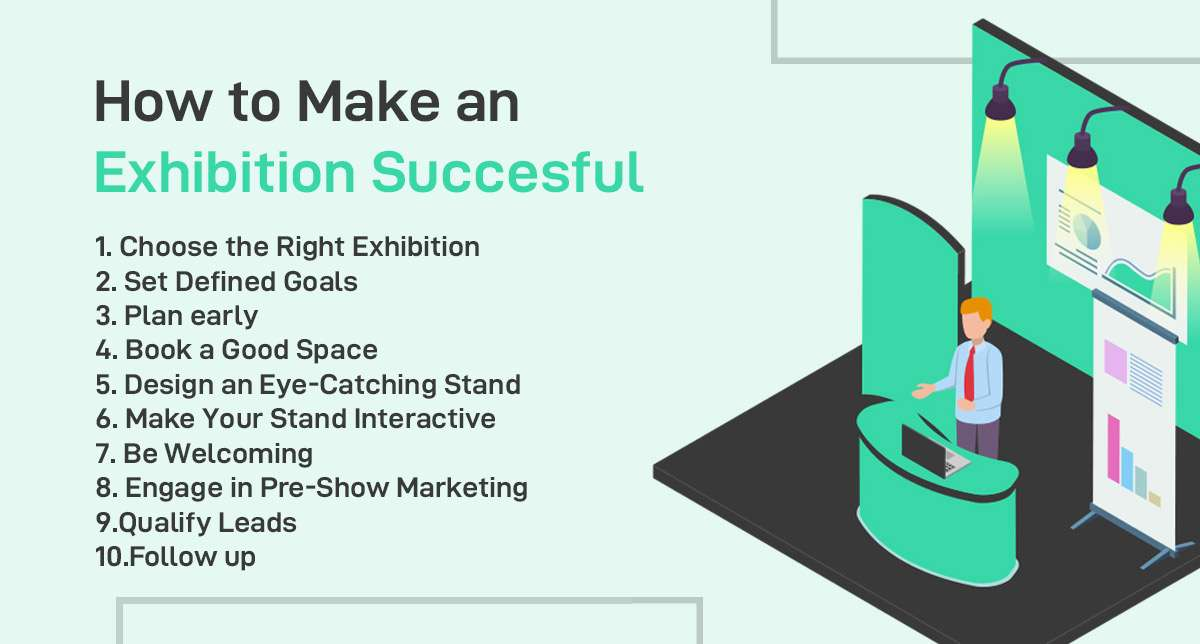 how to make an exhibition succesful