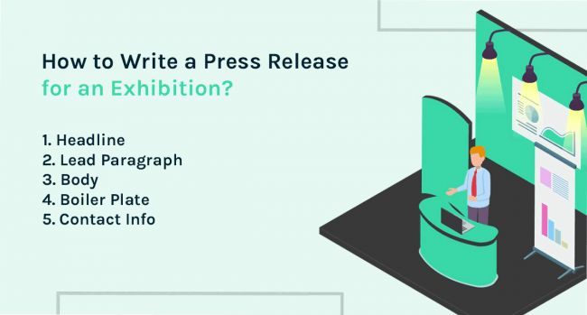 how to write a press release for an exhibition