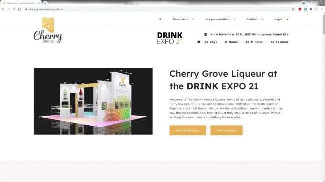 Cherry Grove events website
